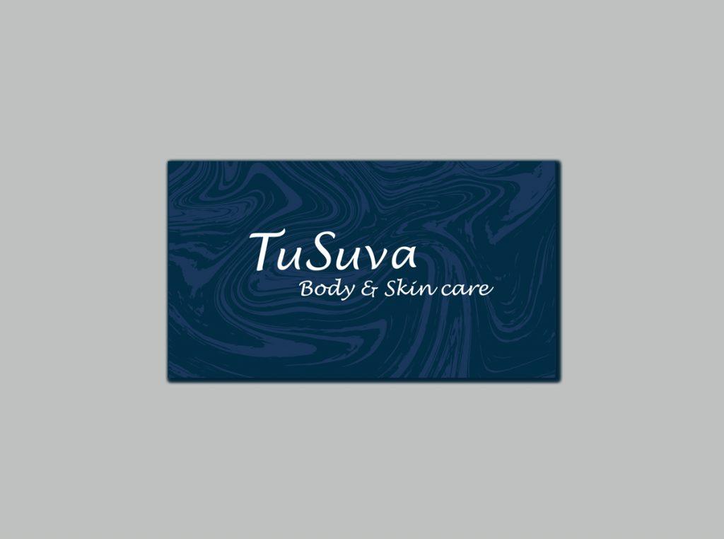Business card Design for SPA TuSuva