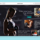 Website Design for a Personal Fitness Trainer Home page
